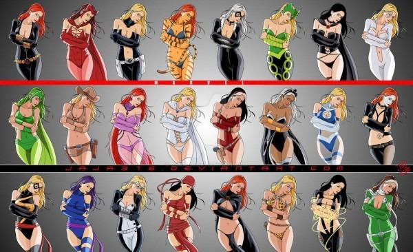 Marvel Ladies Dress Up By Jaja316