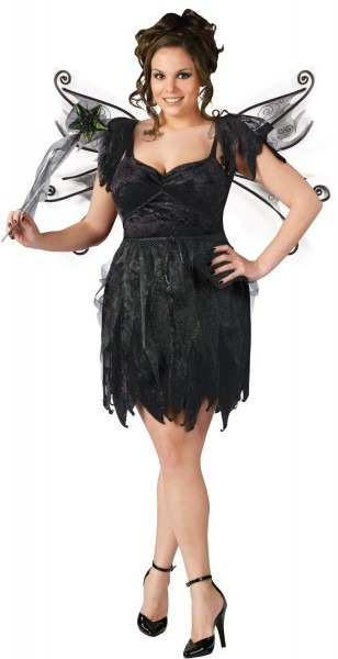 Sexy Midnight Dark Fairy Costume