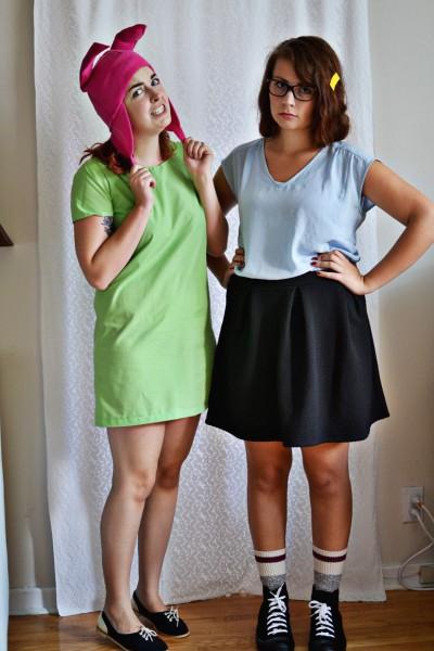 Louise And Tina Belcher   Bob's Burgers Halloween Costumes