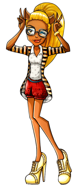 Monster High  Clawdia Wolf! Clawdia Wolf Is The Older Sister Of