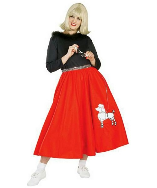 Adult 50s Poodle Babe Plus Size Costume