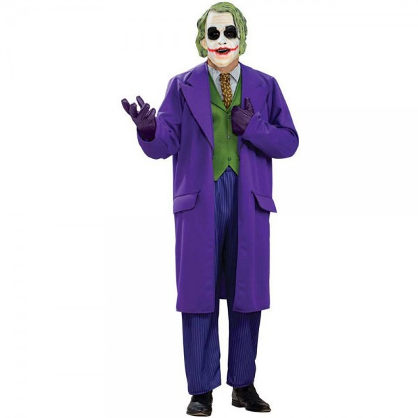 Amazon Com  Deluxe Joker Adult Costume