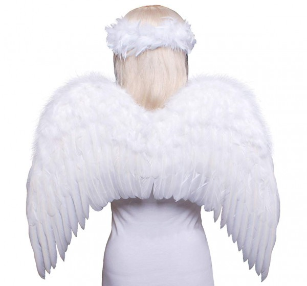 Amazon Com  Fashionwings (tm Teens Adults Classic White Costume