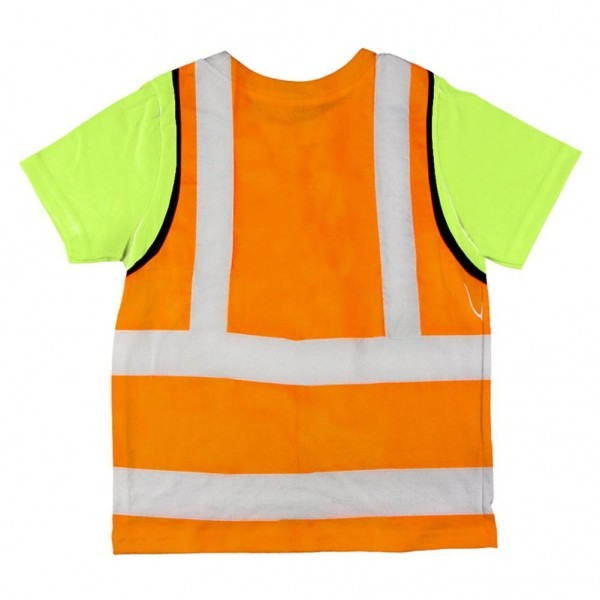 Amazon Com  Halloween Road Worker Construction Vest Costume All