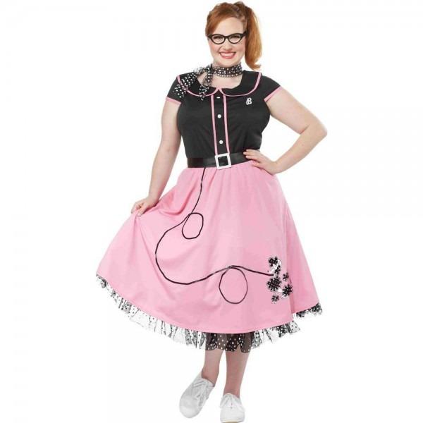 Amazon Com  California Costumes Fifties Sweetheart Plus Size