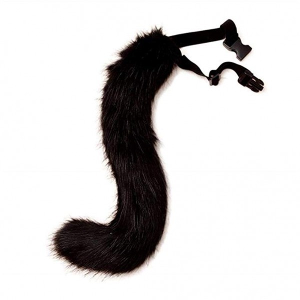 Amazon Com  Plush Faux Fur Tail For Halloween Party Costume Adult