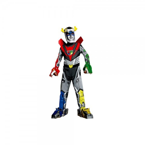 Amazon Com  Deluxe Voltron Force Voltron Costume