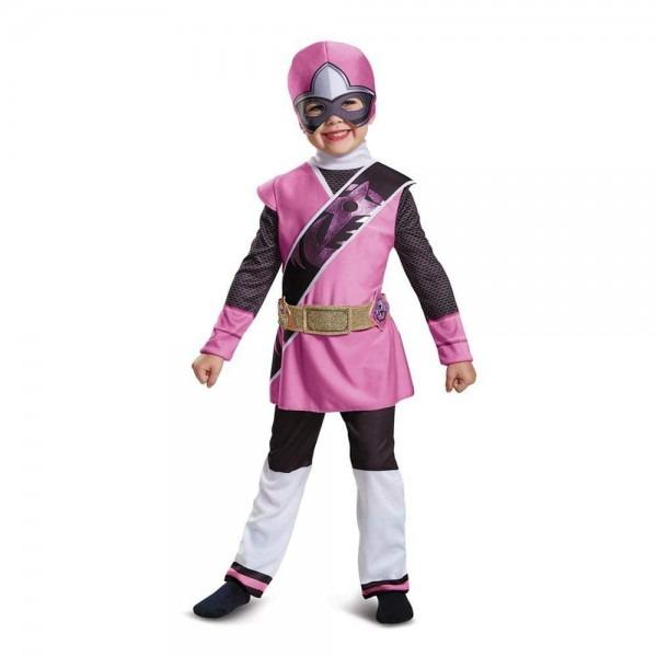 Amazon Com  Power Rangers Ninja Steel Deluxe Toddler Costume, Pink