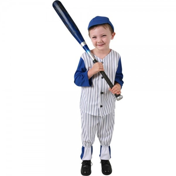 Amazon Com  Child's Boy's Baseball Costume (size Small 6