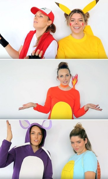 20 Pokémon Costumes For Halloween That Are Super Effective And