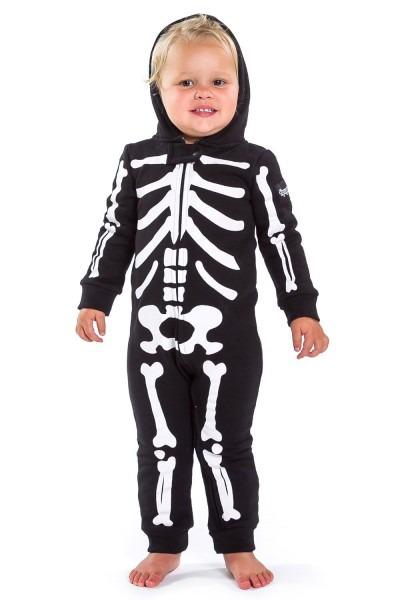 Baby Skeleton Costume  Toddler & Infant Halloween Skeleton Onesies