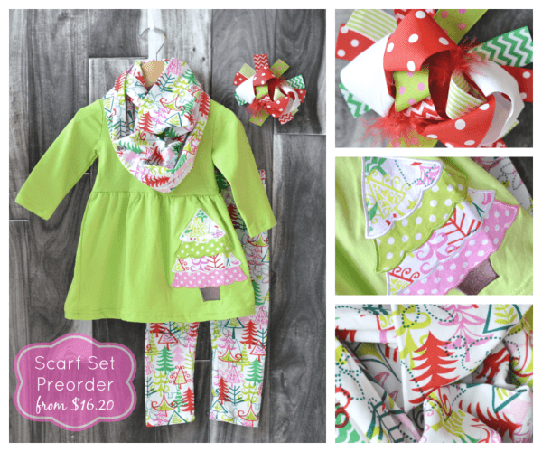 Sassy Tree Scarf Set Sale! From Just $16 20 Through 10 21 15