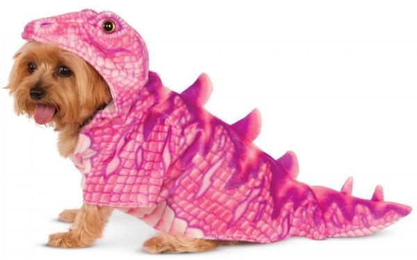 Pink Dinosaur Dog Costume (medium) 580364