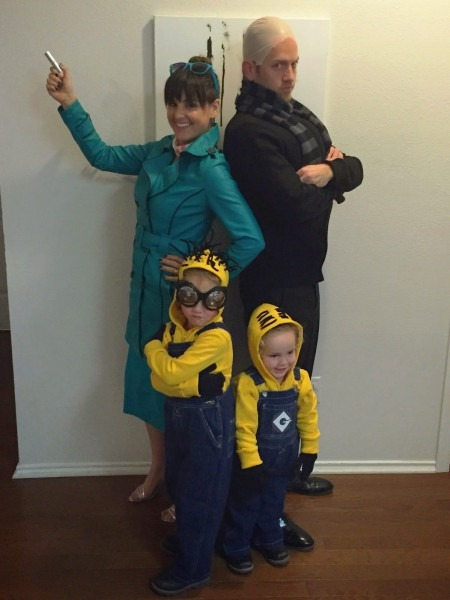 Diy Despicable Me 2 Halloween Costumes