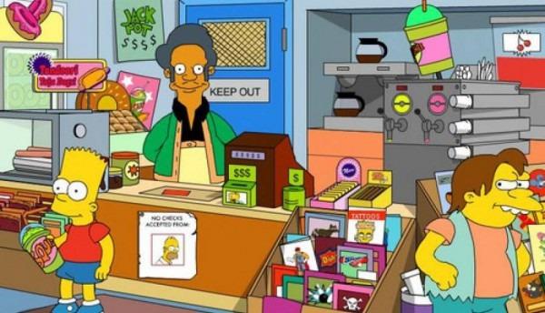 Los Simpons  Abren La Primera Tienda De Apu, El Kwik