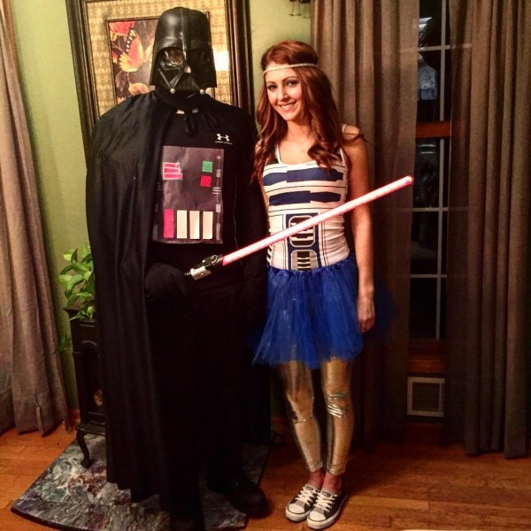 Quick And Easy Couples Star Wars Costume   Starwars