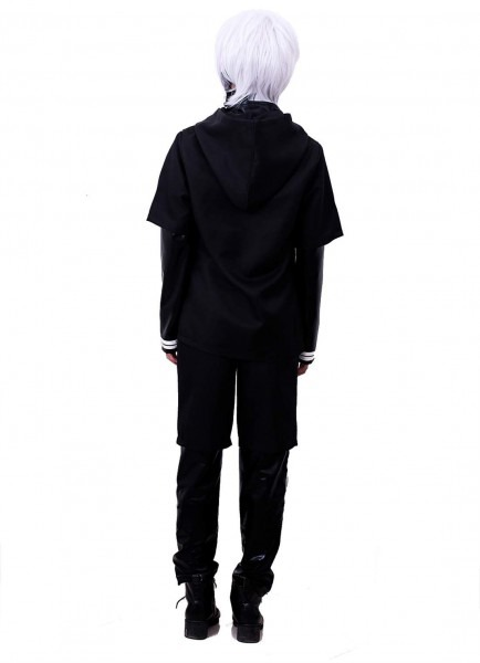 Halloweencostumesformen Nuoqi Japanese Anime Black Cosplay