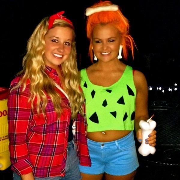 Diy Pebbles Flintstone Halloween Costume  )