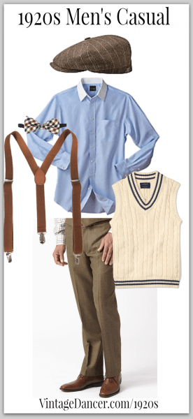 7 Easy 1920s Men's Costumes Ideas