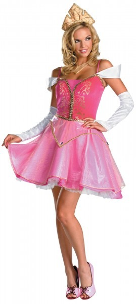 Sleeping Beauty Aurora Prestige Teen Adult Costume [movie Costume