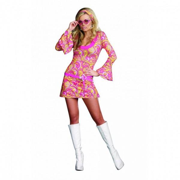 Women's 60's Hippie Dress Costume