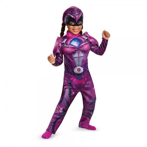 Halloween Toddler Power Rangers Pink Ranger Costume