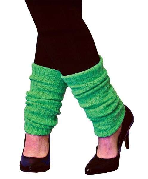 Amazon Com  Leg Warmers Adult Neon Green  Clothing