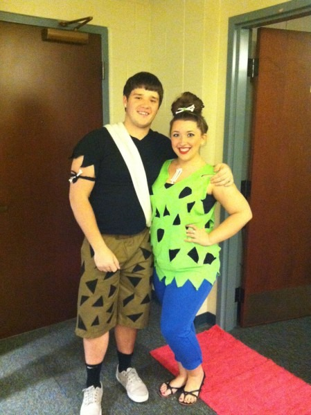 Bambam & Pebbles!  Halloween  Costume