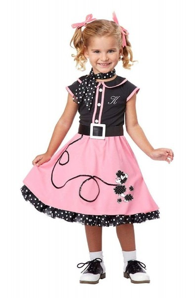 Amazon Com  51s Poodle Cutie Toddler Costume California Costume