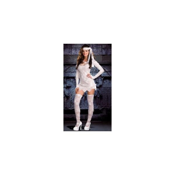 Amazon Com  Dreamgirl Women's Yo Mummy Costume  Clothing