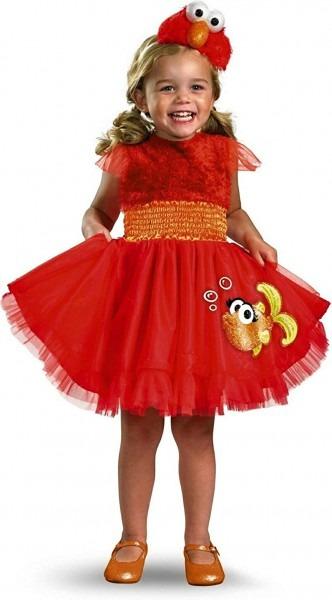 Amazon Com  Frilly Elmo Toddler Costume