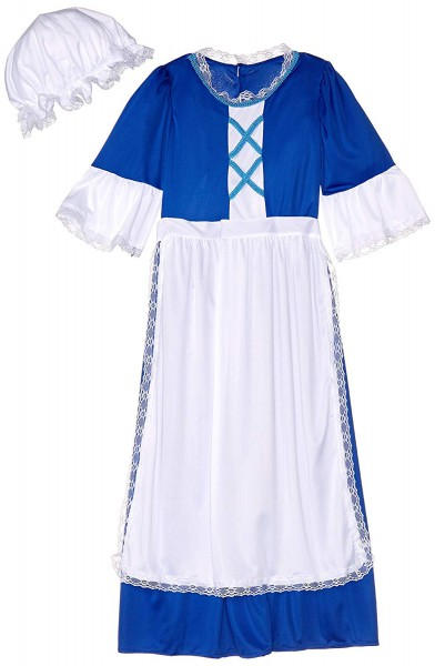 Amazon Com  Forum Novelties Colonial Girl Costume, Child's Small