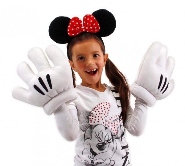 Amazon Com  Elope Disney's Minnie Mouse Ears & Gloves Set  Clothing