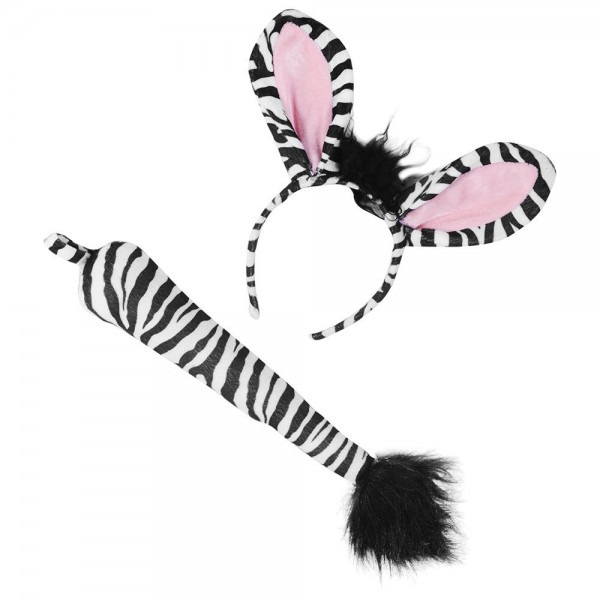 Amazon Com  Zebra Costume Set