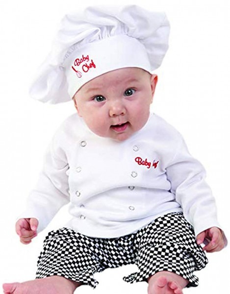 Amazon Com  Baby Toddler Fancy Dress Chef Cook Outfit Halloween