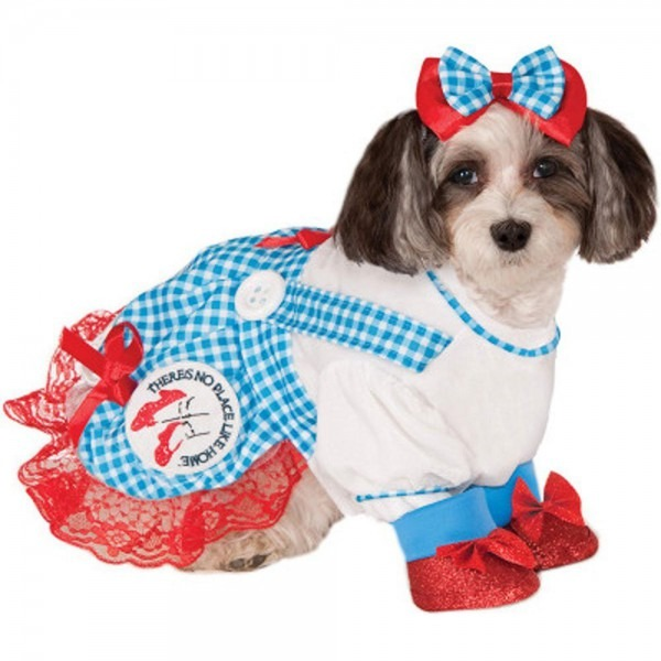 Amazon Com   Wizard Of Oz Dorothy Pet Costume, Large   Dog Costume
