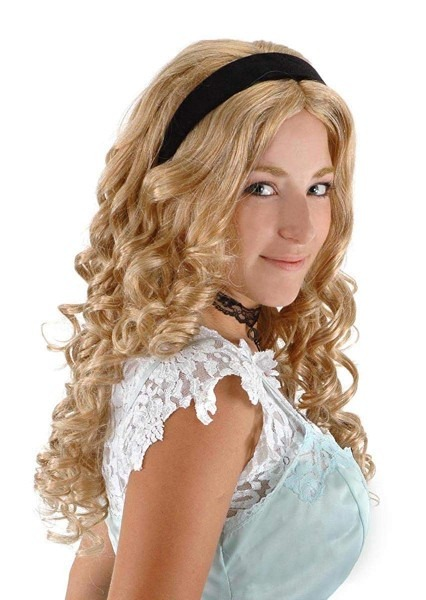 Amazon Com  Elope Alice In Wonderland Alice Wig With Headband