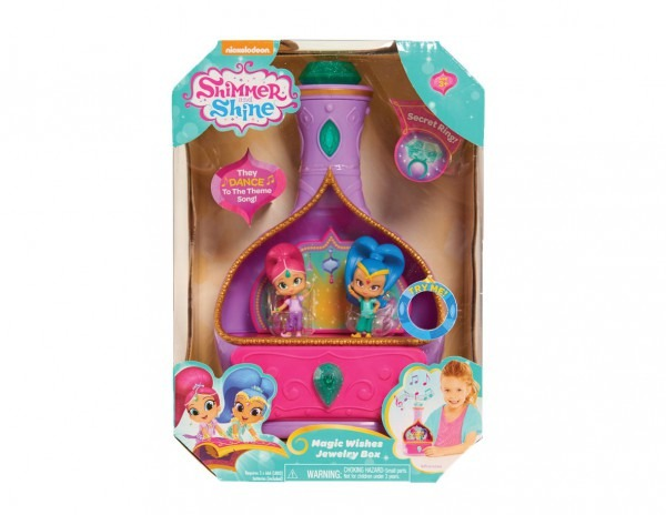 Amazon Com  Shimmer And Shine Jewelry Box  Toys & Games