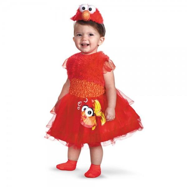 Amazon Com  Frilly Elmo Costume  Clothing