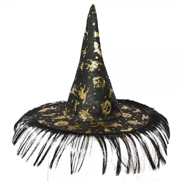 Amazon Com   Adult Witch Halloween Hat For Womens Easter Witch Hat