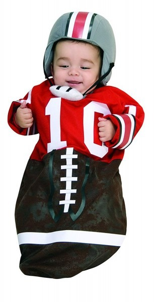Amazon Com  Infant Size Football Player Bunting Costume