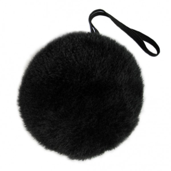 Amazon Com  Seasonstrading Black Plush Bunny Tail ~ Halloween Bear