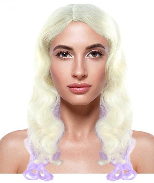 Amazon Com  Halloween Party Online Descendants 2 Mal Wig, Blonde
