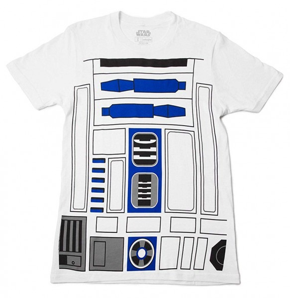 Amazon Com  Mighty Fine I Am R2d2 Costume Adult T