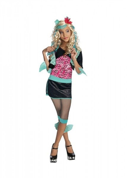 Amazon Com  Little Girls' Lagoona Blue Monster High Costume And