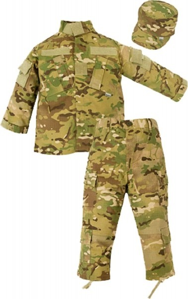Childrens Army Costume & Kids Military Uniform Package