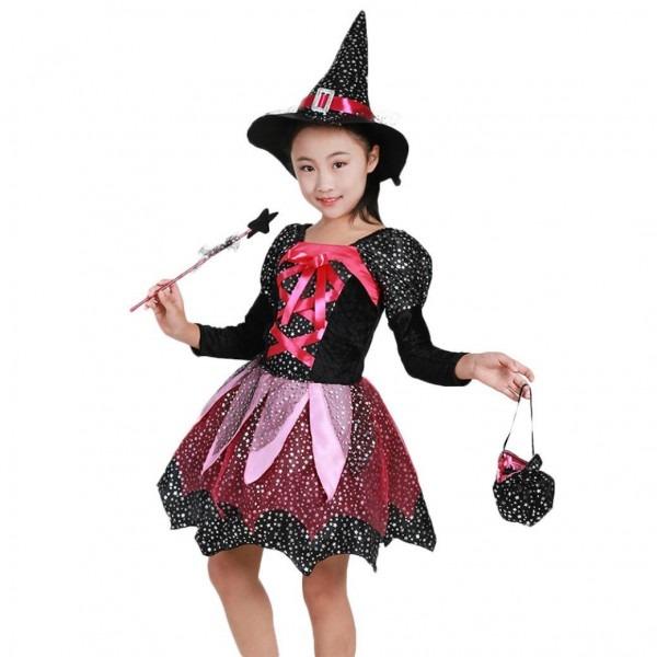 Amazon Com  Veepola Fairytale Witch Cute Witch Costume Deluxe