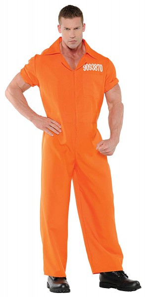 Amazon Com  Uhc Men's Prison Jumpsuit Orange Convict Boiler Suit