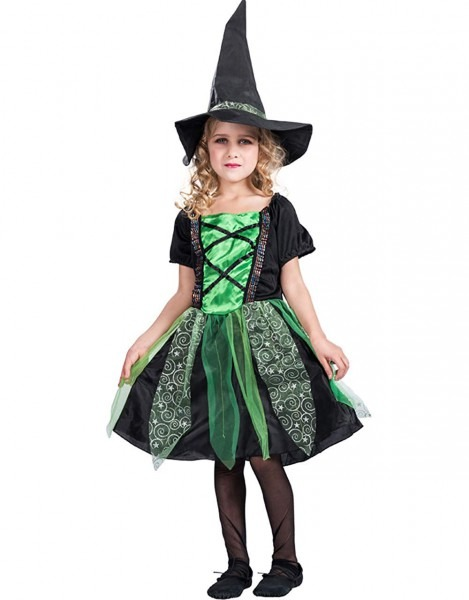Amazon Com  Witch Costume For Girls