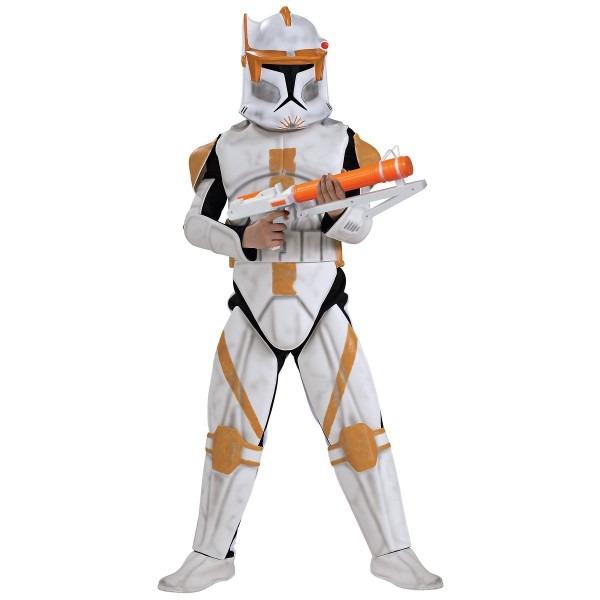 Amazon Com  Child Deluxe Clone Trooper Commander Cody Costume